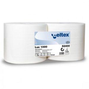 Материал протирочный бумажный Lux, 2-сл, 24*34см,1000л, белый