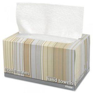 Полотенца для рук  в пачках Kleenex Ultra Soft Pop-Up, 1-сл, 70л, белый,18шт/упак
