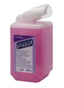 Средство пенное для рук для ежедневного использования Kleenex Luxury, 1000мл, розовый, 6*1л